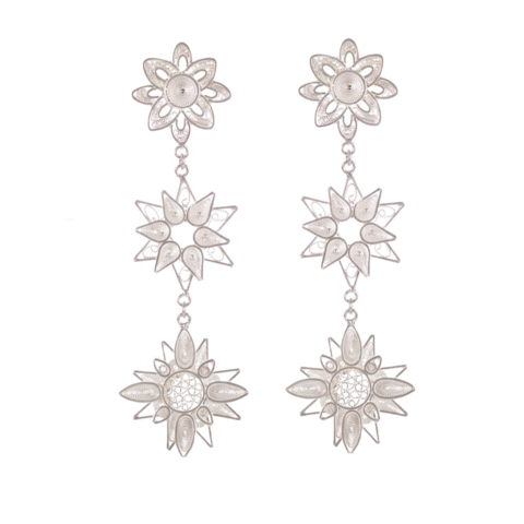 Lea,Earrings,vanilo, vanilo uk, vanilo jewellery, lea earrings, siliver earrings,