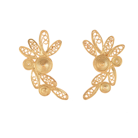 Estela,Studs,vanilo, vanilo uk, vanilo jewellery, estela studs, gold earrings,
