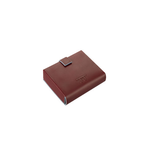 YOU,ARE,SO,SQUARE,MAROON,lautem, lautem uk, lautem wallet, independent wallet, square wallet, you are so square,