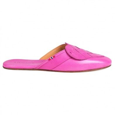 ELSKLING LEATHER MULE HOT PINK - product images  of