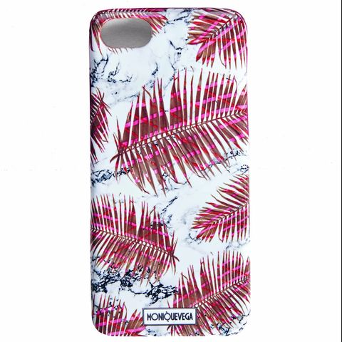 PALMANOVA,RED,PHONE,CASE,monique vega, moniquevega, monique vega phone case, iPhone case, Samsung phone case, art phone case,