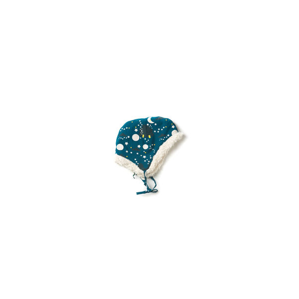 Moon & Stars Sherpa Cap - product images  of