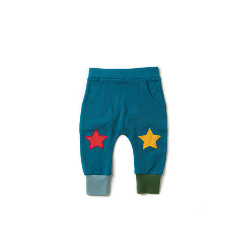 Deep,Blue,Star,Joggers,Little Green Radicals, Little Green Radicals uk,