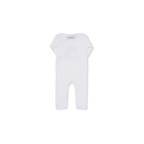 I LOVE MILK Baby Grow, White All-in-one - product images  of