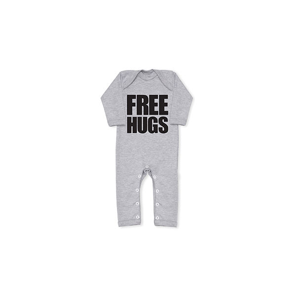 FREE HUGS Cool Grey All In One - product images  of