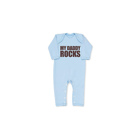 My Daddy Rocks Cool Boys Baby grow - product images  of