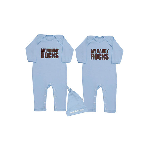 My Mummy & Daddy rocks blue - product image