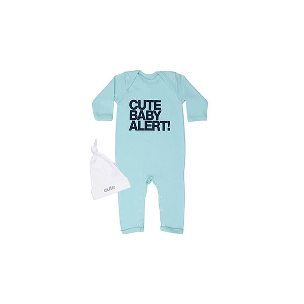 Cute Baby Alert set - product image