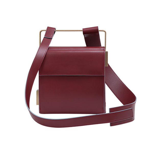 EASY TO LOVE MAROON SHOULDER STRAP - product images  of