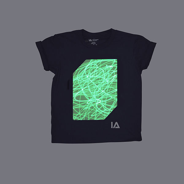 Kids Black Super Green Glow - product images  of