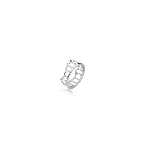 The,Crown,Stacking,Ring,kikitang london, kikitang ring, white gold ring, the crown collection,