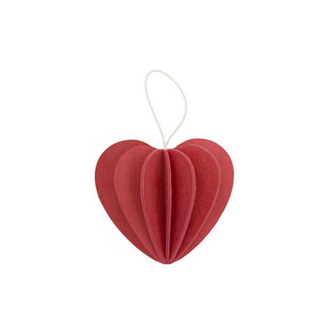 Lovi,Heart,Bright,Red,6.8cm,lovi, lovi uk, wooden postcard, gift, best gift,