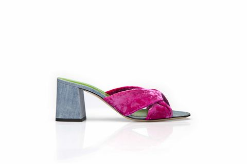 Criss-Cross,Sandals-,Fusia,velvet