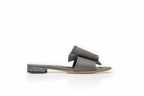 Wavy,sandals,-,in,smoke,grey,leather