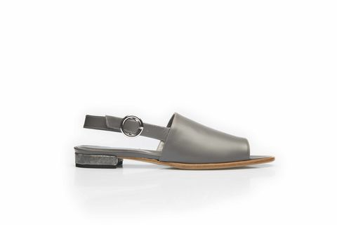 Sandals,in,smoke,grey,leather