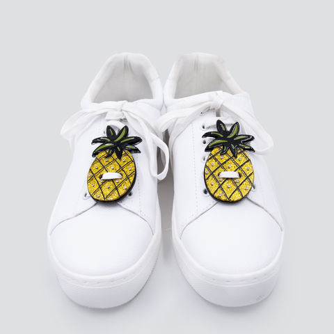 Acryl,sneaker,patches-,Pineapple