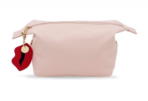 Washbag,nude,with,Lip,Charm