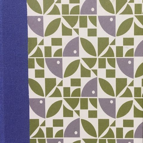 Notebook-Geometyrical,Green,&,Grey