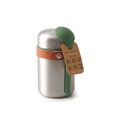 INSULATED,FOOD,FLASK-,Olive