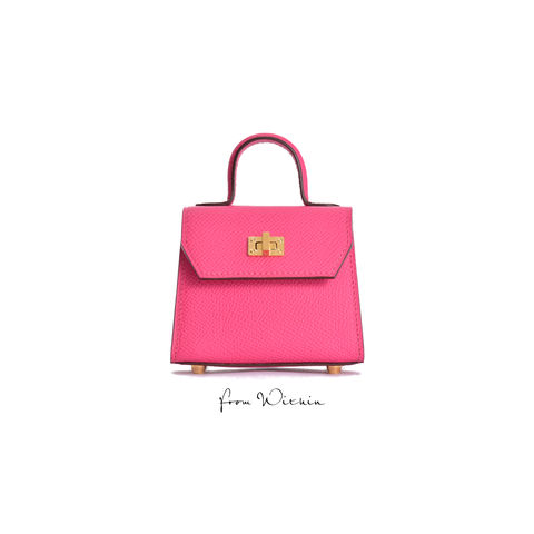 Squirel,Mini,Handbag,-,Fuchsia