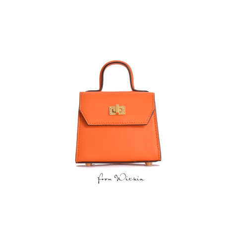 Squirel,Mini,Handbag,-,Orange