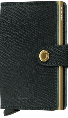 Miniwallet,Black-Gold