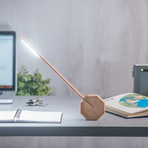 Octagon One Desk Lamp - Maple - product images  of