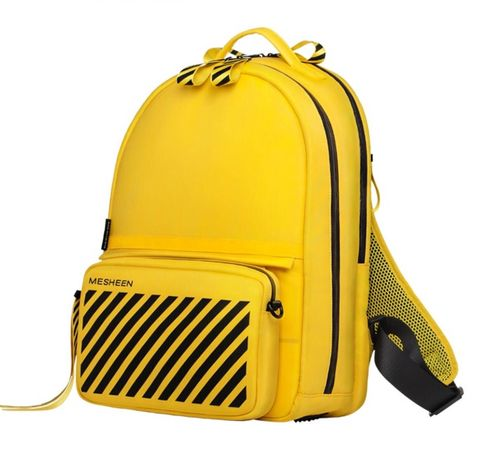 Designer,function,backpack-,bright,yellow