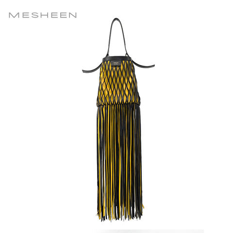 Mesheen,x,DamoWang,catwalk,bucket/crossbody,bag