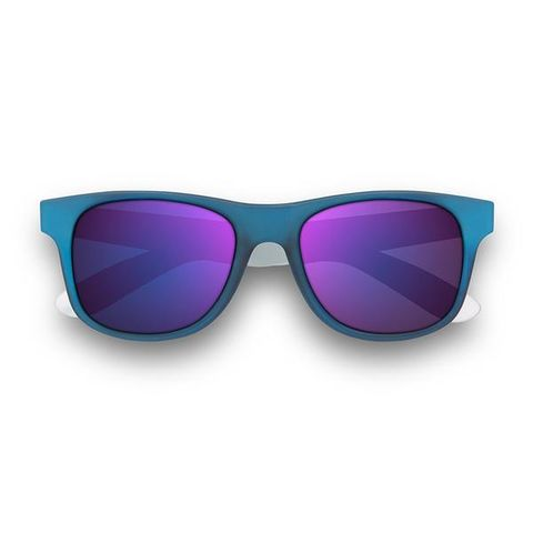 TWO,TONE,ICE,SUNGLASSES,-,NAVY/CLEAR