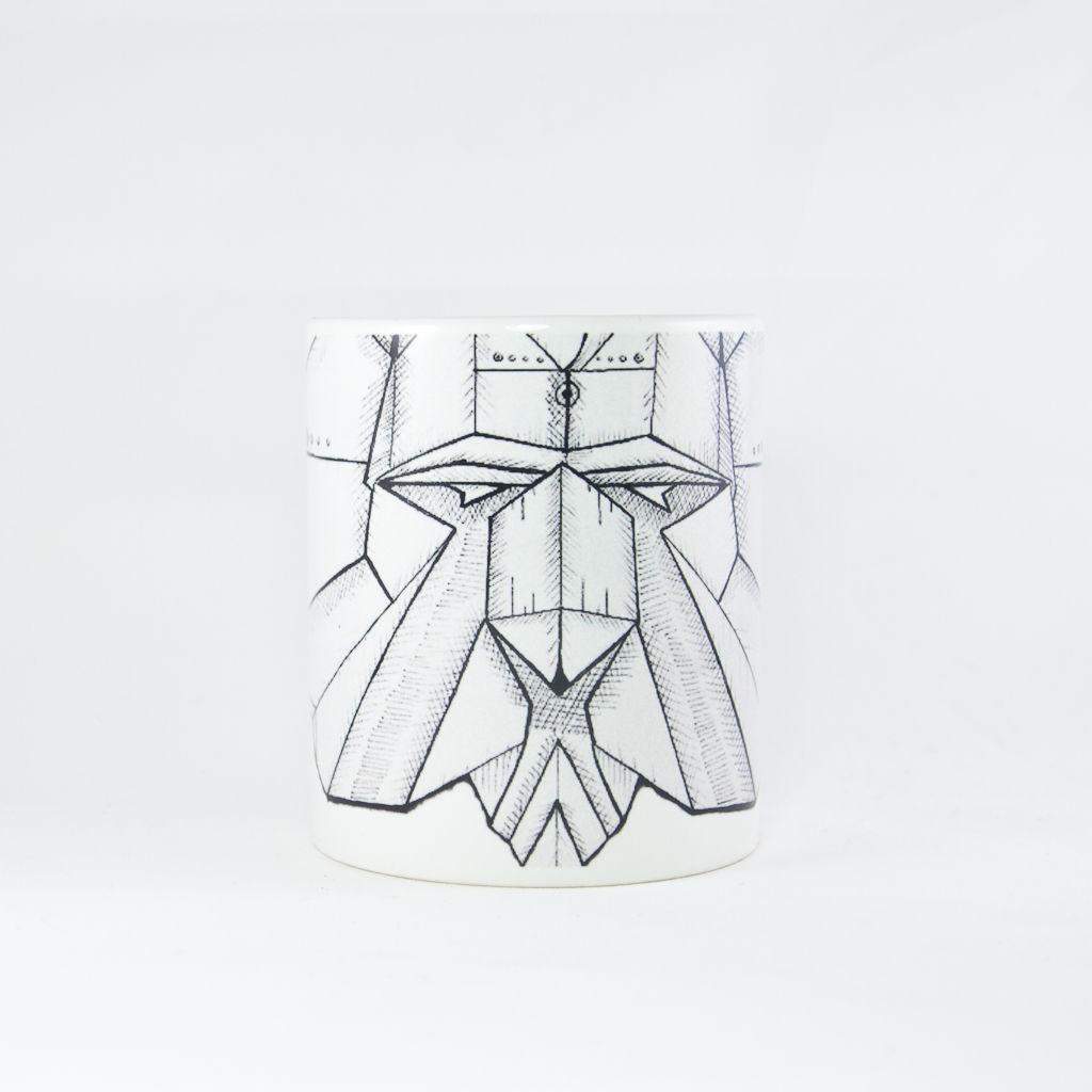 Origami Lion Mug