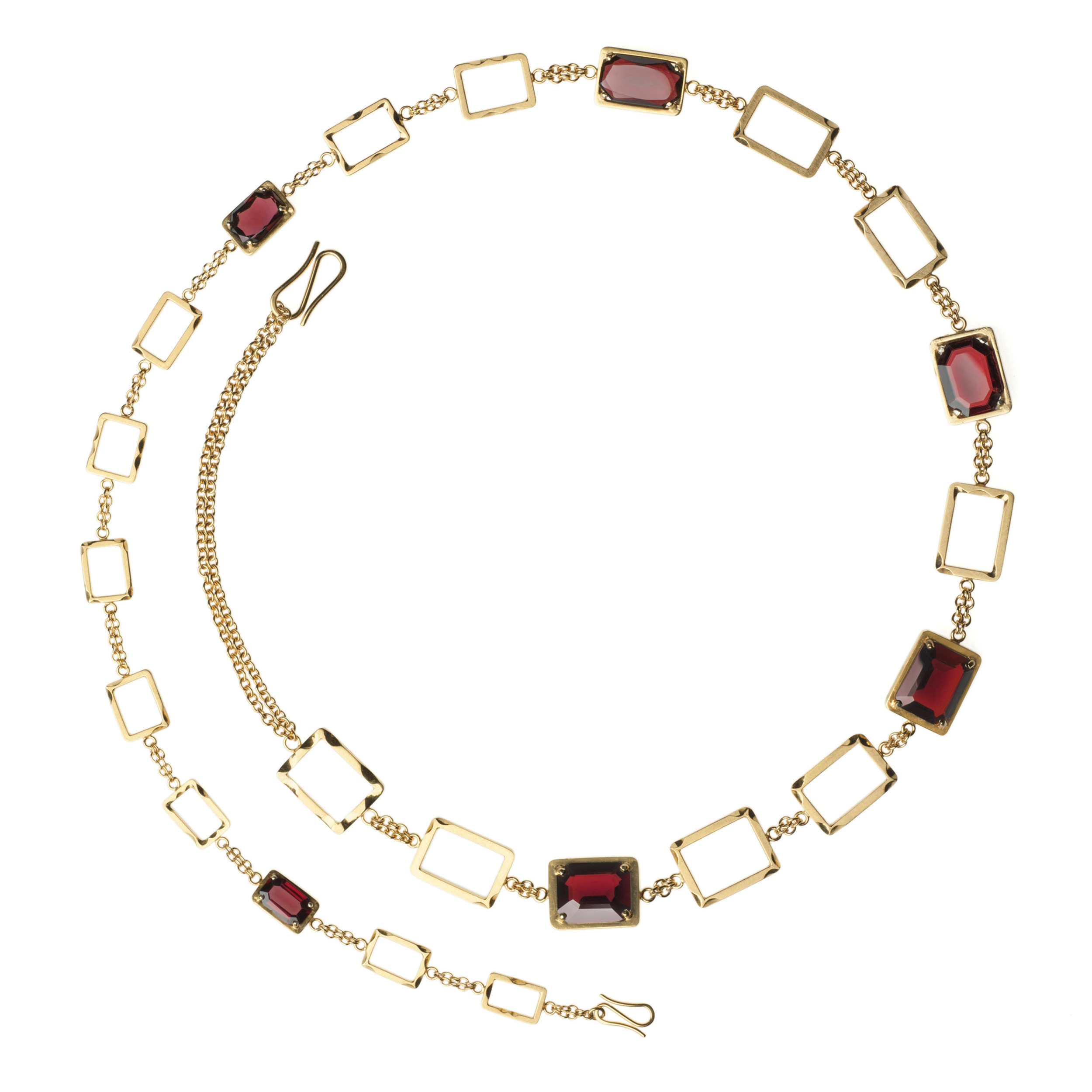 Garnet Chain by Anastasia Young Jewellery for The Lily Holds Firm
