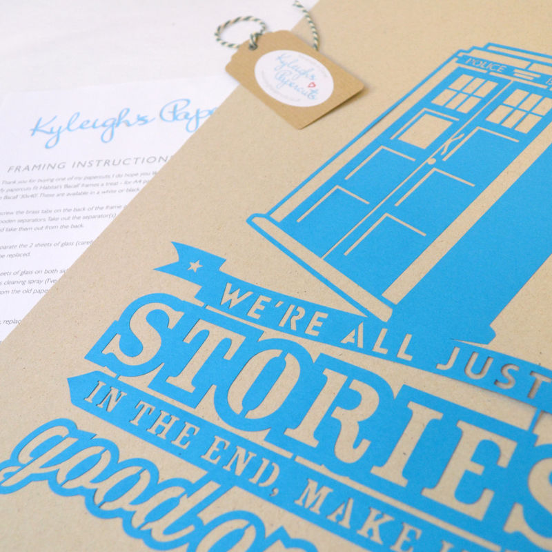 Doctor Who Papercut - product image