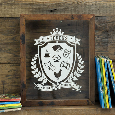 Personalised,Family,Coat,Of,Arms,Papercut,personalised coat of arms, papercut, Kyleigh's papercuts, family crest, christmas, present, gift, family motto