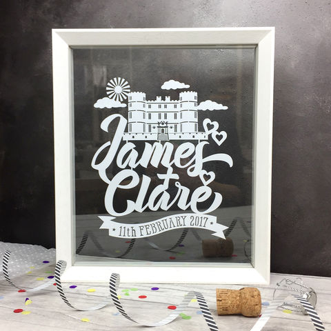 Personalised,Wedding,Venue,Papercut,wedding venue, wedding gift, anniversary, papercut, personalised, engagement