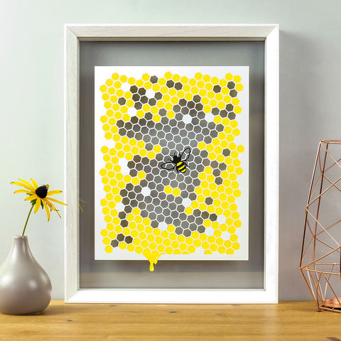 Bee,Papercut,bumble bee, papercut, bee, hive, monochrome, honeycomb, hexagon, honey, queen, worker, artwork, frame