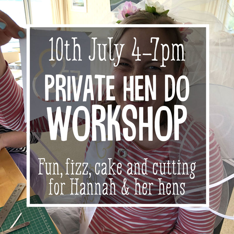Hannah's Hen Do Workshop 10th July - product image