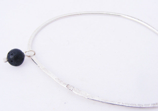 silver charm bangle - product images  of