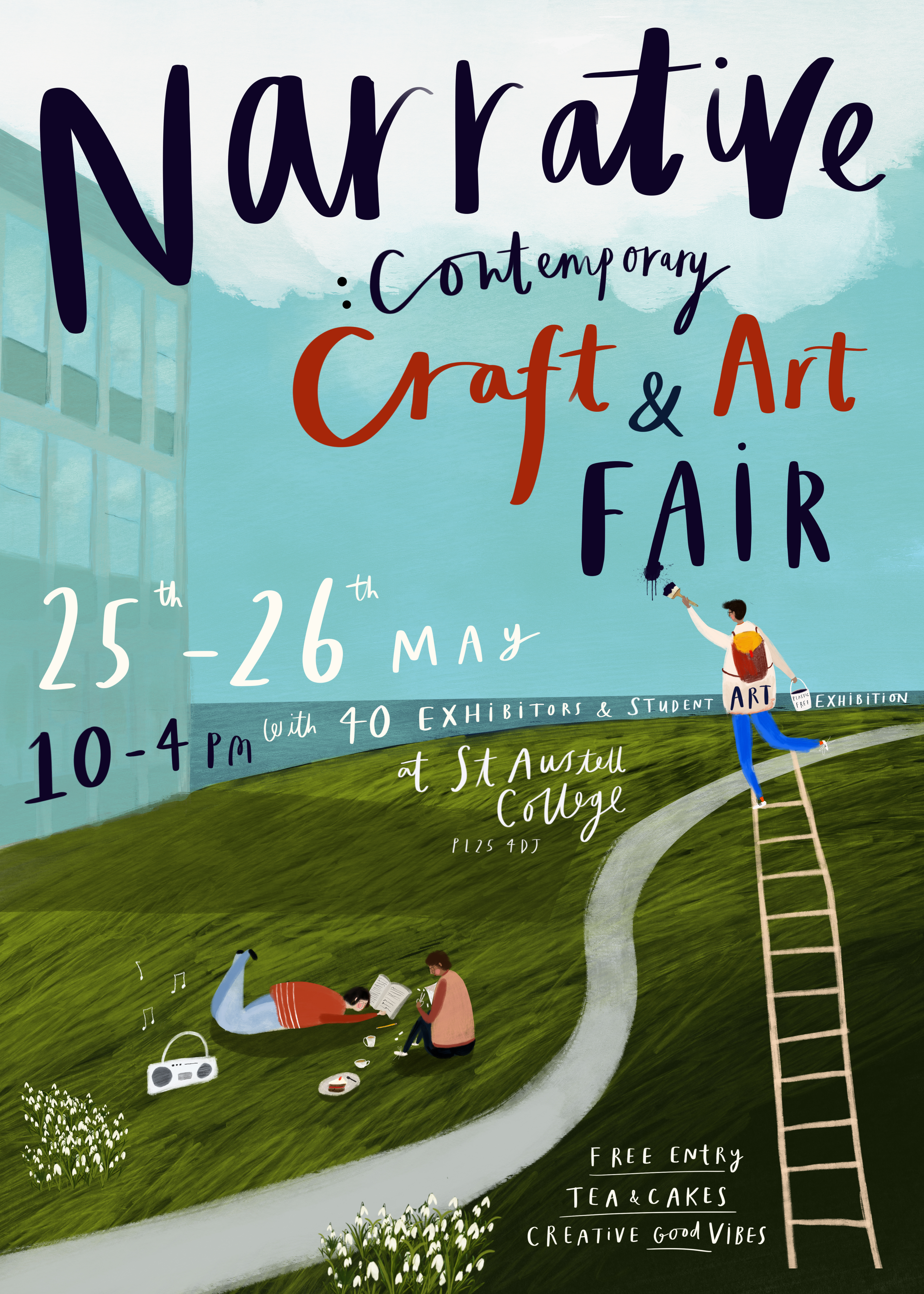summer fairs and new work