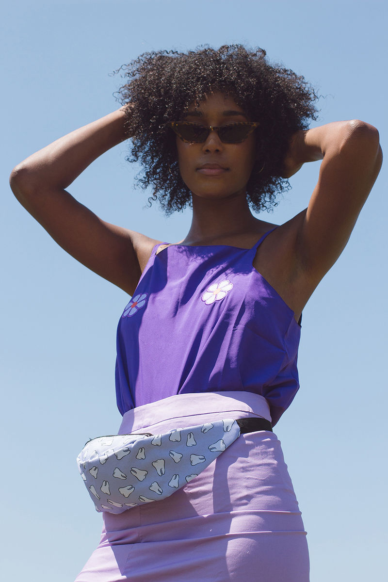 Purple Teeth Fanny Pack - product image
