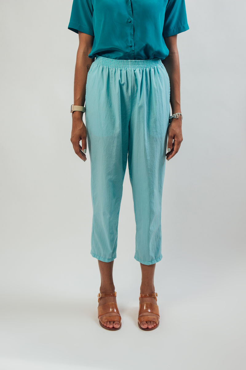 Pastel Green Highwaist Pants - product image