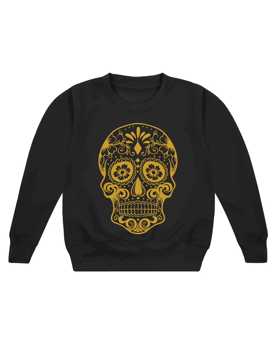 'Sugar Skull' Kids Sweatshirt (various colours/sizes) - product images  of
