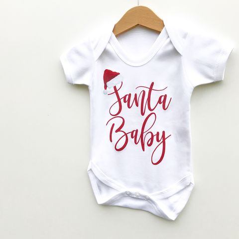 Santa,Baby,Christmas,Baby/Toddler,Bodysuit,(various,sizes),santa baby, christmas baby bodysuit, funny toddler bodysuit, christmas baby onesie, baby xmas romper, funny kids clothing, funny baby clothes, funny xmas baby gift