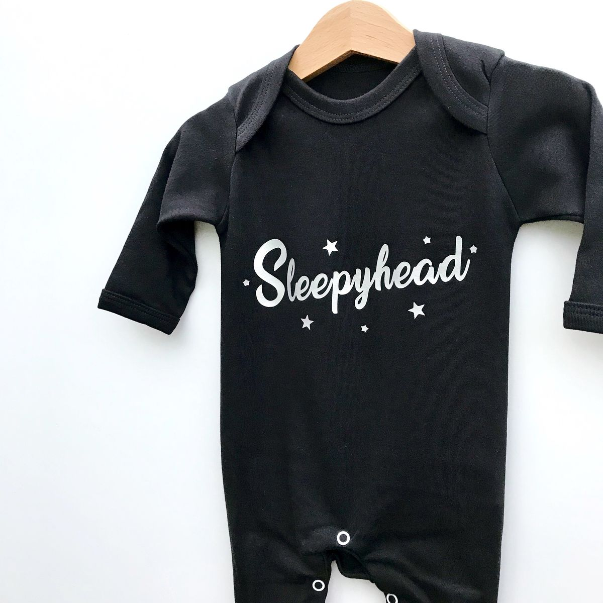 Sleepyhead Black/White Baby Romper Suits (various sizes) - product images  of