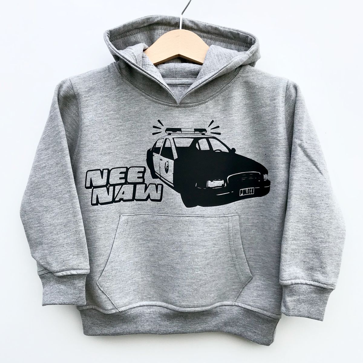 NeeNaw! Police Car Kids Hoodie (Various Sizes) - product images  of
