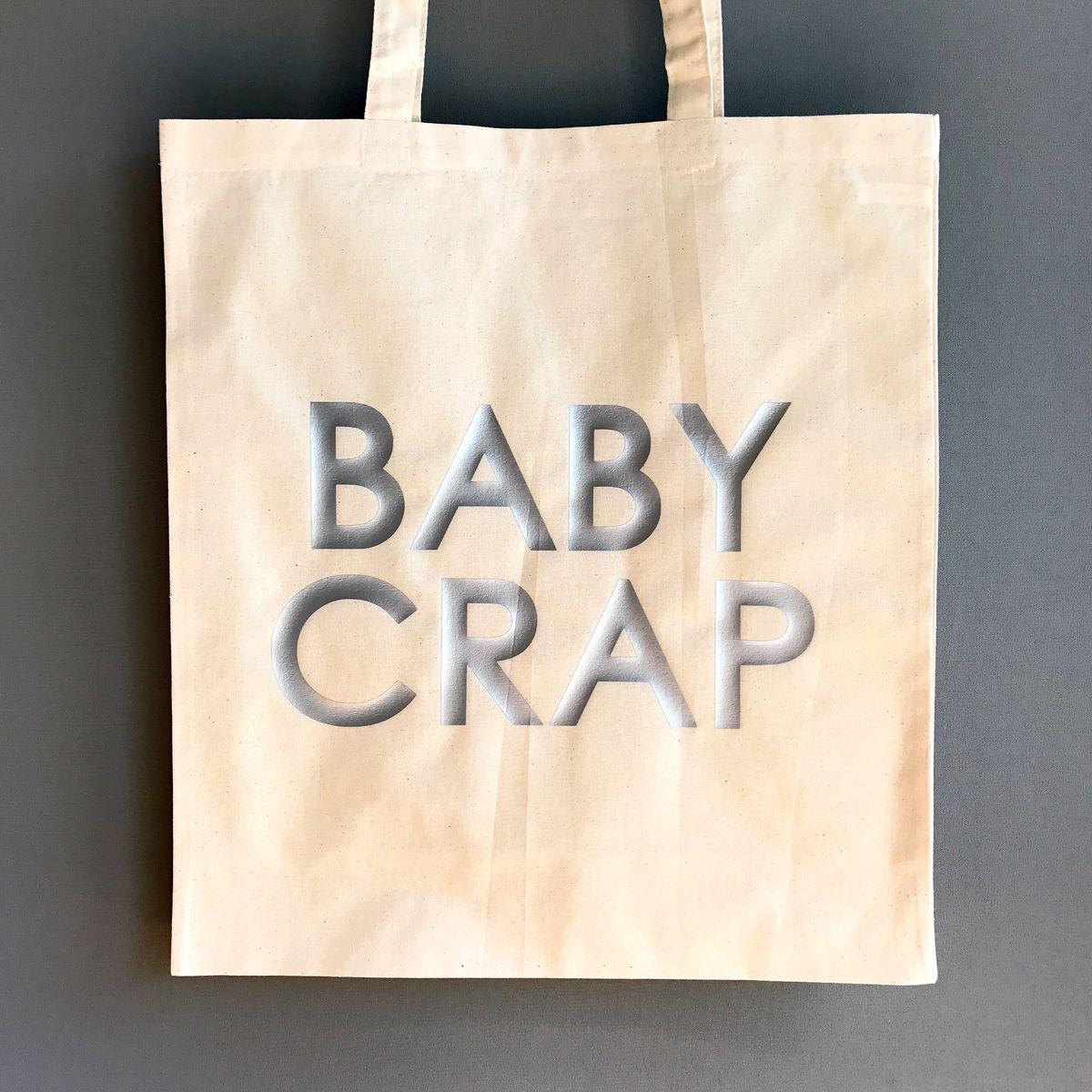 Gold/Silver/Black Baby Crap Tote Bag - product images  of
