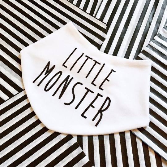Little Monster Baby Bib - product images  of