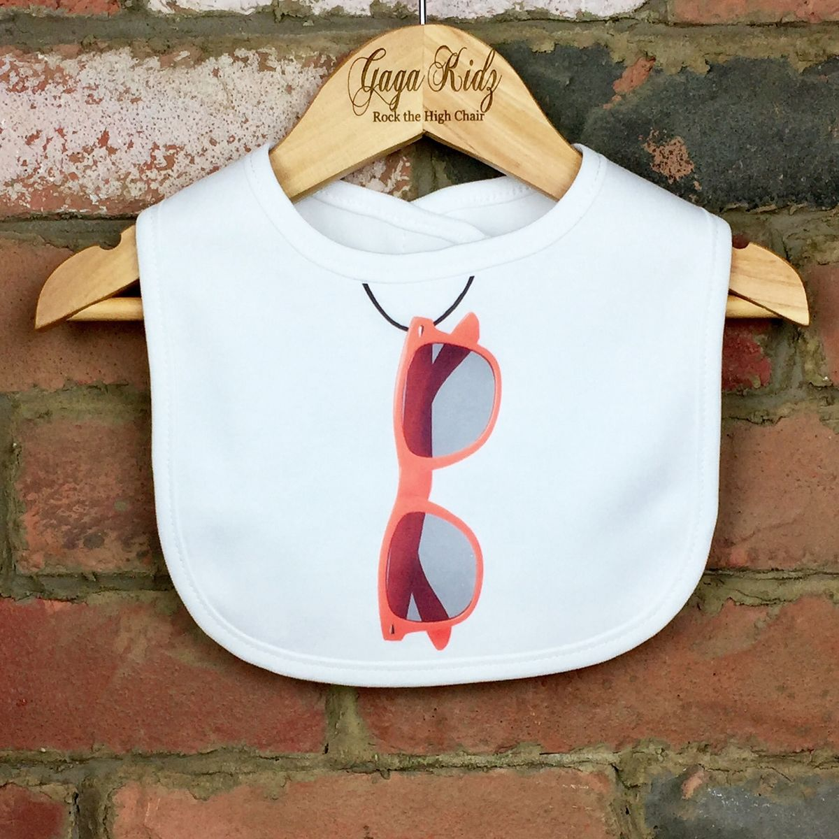 Sunglasses Baby Bib - product images  of