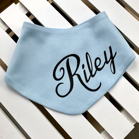 Personalised,Baby,Name,Bandana,Bib,(various,colours),personalised baby name bib, stylish baby name bib, italic baby name bib, personalised baby gift, personalised baby clothes, cute baby bib, unique baby gift, baby shower gift, cool baby bib, cool baby clothes, cool baby gift, gaga kidz
