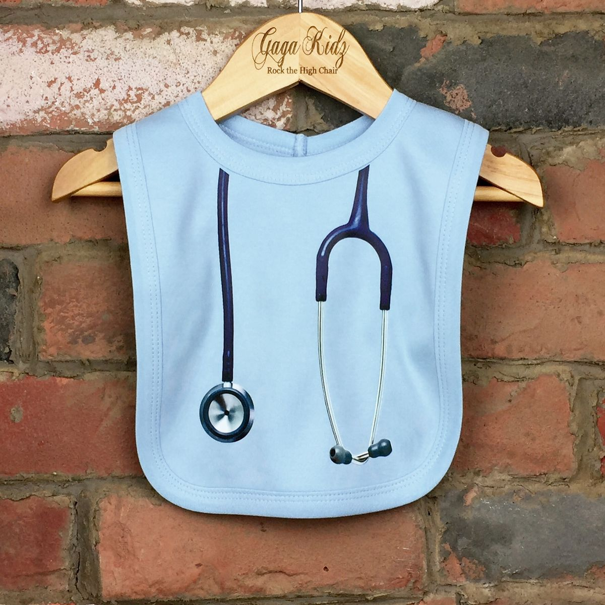 Stethoscope Baby Bib (various colours) - product images  of